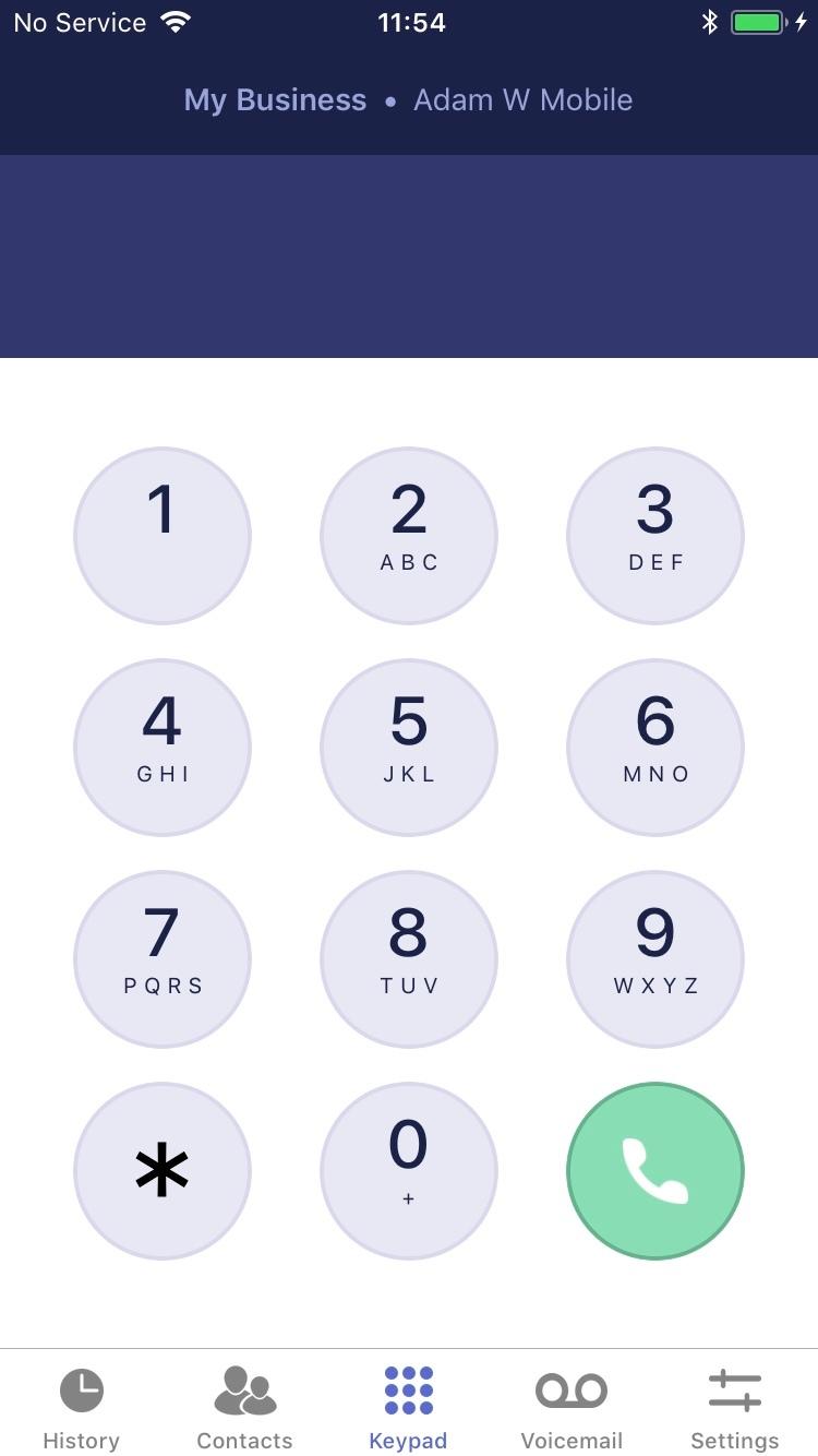Dial 9 Phone
